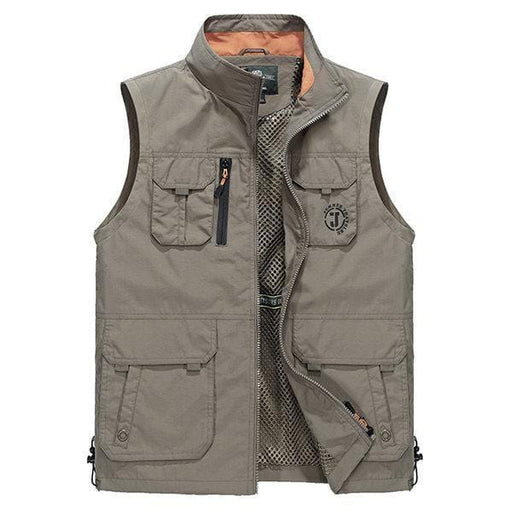 CN Vests Army Green / XL Plus Size Outdoor Fishing Vest