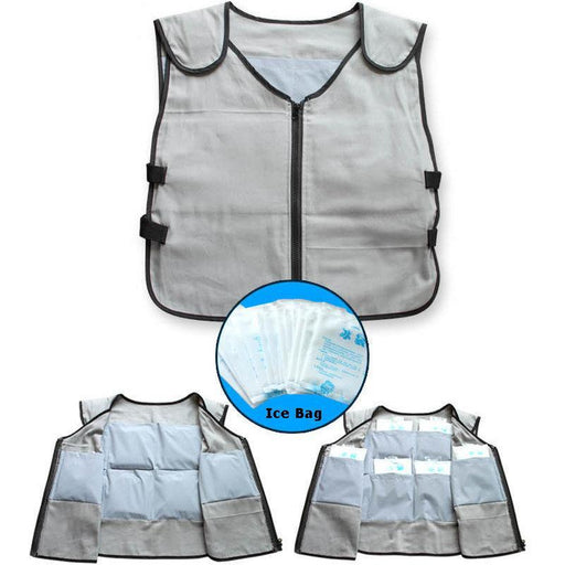 Cooling Vest Ice Bag Clothes