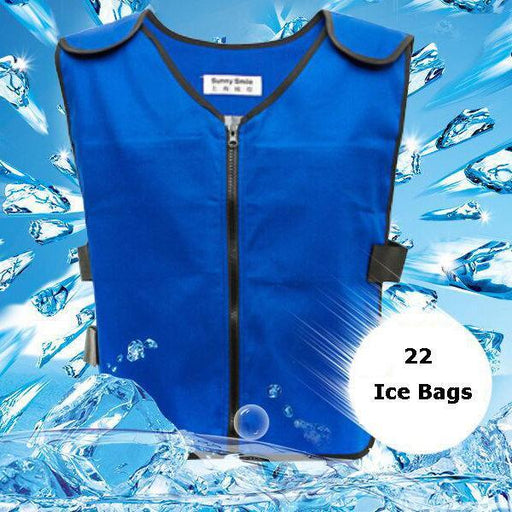 CN Vests Black / Free Size Cooling Vest Ice Bag Clothes