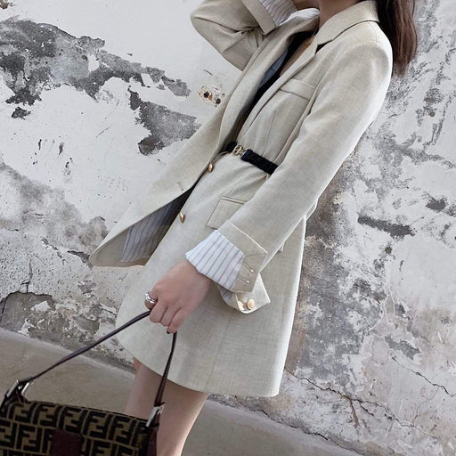 Women's Elasticated waistband Jacket