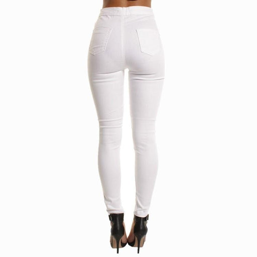 Women's High Waist Skinny Stretchy Jeans