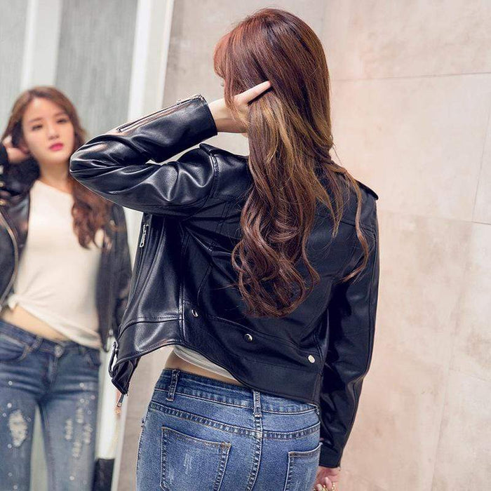 Women's  Leather Motorcycle Jackets