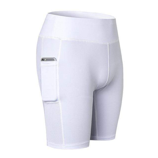Women Workout Shorts With Pocket