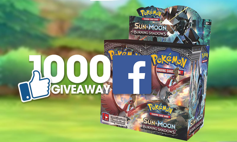 1000 Facebook LIKE GIVEAWAY!