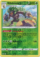 14/202 Rillaboom Rare Holo Reverse Holo Sword & Shield - The Feisty Lizard Melbourne Australia