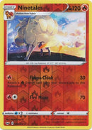 23/202 Ninetales Rare Reverse Holo Sword & Shield - The Feisty Lizard Melbourne Australia