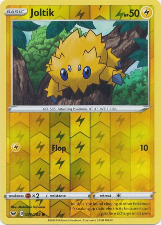 70/202 Joltik Common Reverse Holo Sword & Shield - The Feisty Lizard