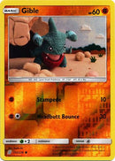 112/236 Gible Common Reverse Holo - The Feisty Lizard Melbourne Australia