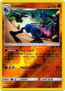 117/236 Lucario Rare Reverse Holo - The Feisty Lizard