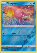 12/68 Slowpoke Common Reverse Holo Hidden Fates - The Feisty Lizard