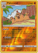 127/236 Palossand Rare Reverse Holo Cosmic Eclipse - The Feisty Lizard