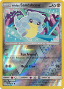 137/236 Alolan Sandshrew Common Reverse Holo Cosmic Eclipse - The Feisty Lizard Melbourne Australia