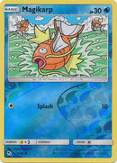 15/68 Magikarp Common Reverse Holo Hidden Fates - The Feisty Lizard Melbourne Australia