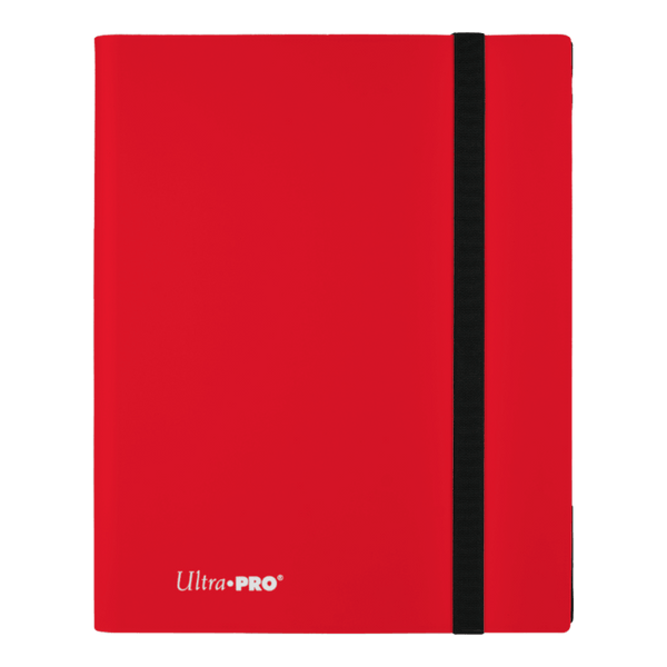 ULTRA PRO Binder Eclipse Pro Folder 9PKT Red - The Feisty Lizard Melbourne Australia
