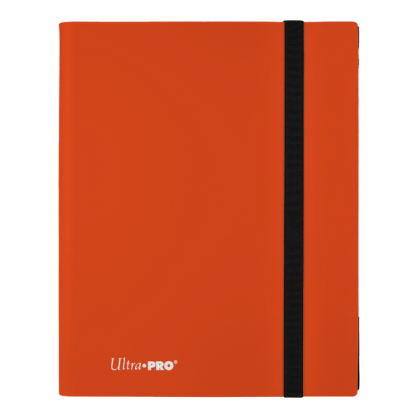 ULTRA PRO Binder Eclipse Pro Folder 9PKT Orange - The Feisty Lizard Melbourne Australia