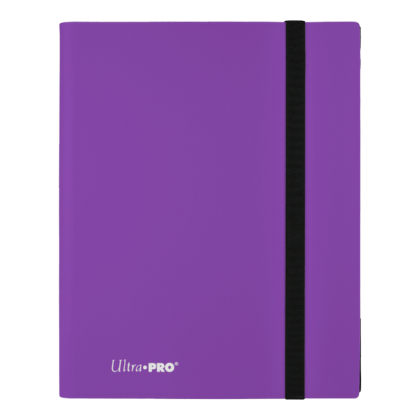 ULTRA PRO Binder Eclipse Pro Folder 9PKT Purple - The Feisty Lizard Melbourne Australia