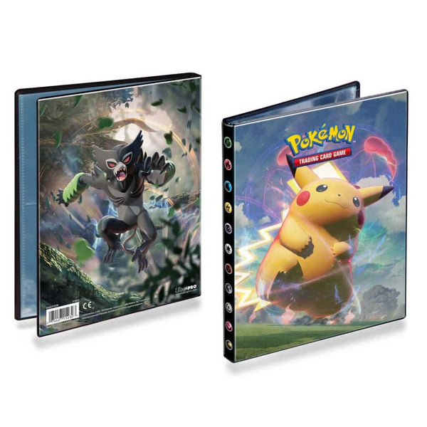 ULTRA PRO Pokemon Portfolio Folder Vivid Voltage 4PKT (PRE-ORDER) - The Feisty Lizard Melbourne Australia