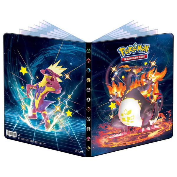 ULTRA PRO Pokemon Portfolio Folder Shining Fates 9PKT (PRE-ORDER) - The Feisty Lizard