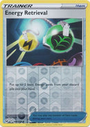 160/202 Energy Retrieval Trainer Uncommon Reverse Holo Sword & Shield - The Feisty Lizard