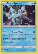 61/236 Black Kyurem Rare Holo Cosmic Eclipse - The Feisty Lizard