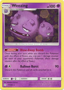 77/236 Weezing Rare Cosmic Eclipse - The Feisty Lizard