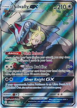 227/236 Silvally GX Full Art Ultra Rare Cosmic Eclipse - The Feisty Lizard Melbourne Australia