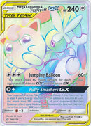261/236 Mega Lopunny & Jigglypuff GX Hyper Secret Rare Tag Team Cosmic Eclipse - The Feisty Lizard Melbourne Australia
