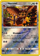 166/236 Noctowl Uncommon Reverse Holo - The Feisty Lizard Melbourne Australia