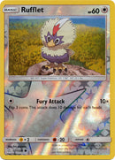 177/236 Rufflet Common Reverse Holo Cosmic Eclipse - The Feisty Lizard Melbourne Australia