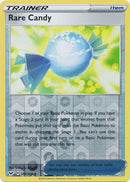 180/202 Rare Candy Trainer Uncommon Reverse Holo Sword & Shield - The Feisty Lizard
