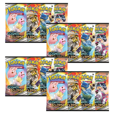 Pokemon TCG Sun & Moon Cosmic Eclipse Booster Pack x18 - The Feisty Lizard