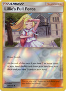 196/236 Lillie's Full Force Uncommon Trainer Reverse Holo Cosmic Eclipse - The Feisty Lizard Melbourne Australia