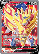 196/202 Zamazenta V Full Art Ultra Rare Sword & Shield Base Set - The Feisty Lizard Melbourne Australia