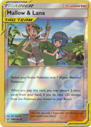 198/236 Mallow & Lana Uncommon Trainer Reverse Holo Cosmic Eclipse - The Feisty Lizard