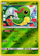 2/214 Caterpie Common Reverse Holo Unbroken Bonds - The Feisty Lizard Melbourne Australia