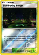 207/236 Slumbering Forest Uncommon Trainer Reverse Holo - The Feisty Lizard