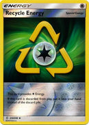 212/236 Recycle Energy Uncommon Energy Reverse Holo - The Feisty Lizard