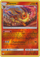 25/236 Flareon Uncommon Reverse Holo Cosmic Eclipse - The Feisty Lizard Melbourne Australia