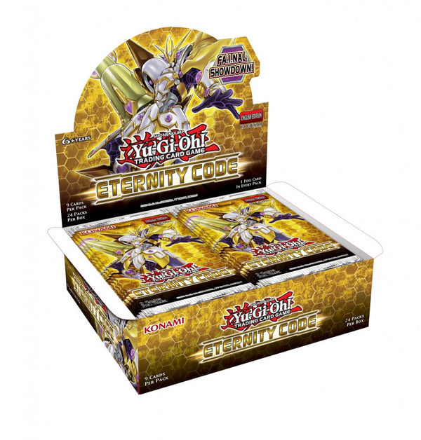 Yu-Gi-Oh! TCG Eternity Code Booster Box - The Feisty Lizard Melbourne Australia