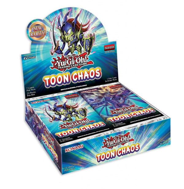 Yu-Gi-Oh! TCG Toon Chaos Booster Box (Unlimited) (PRE-ORDER) - The Feisty Lizard Melbourne Australia