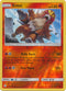 28/236 Entei Rare Reverse Holo Cosmic Eclipse - The Feisty Lizard Melbourne Australia