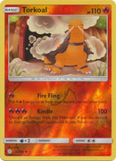 29/236 Torkoal Uncommon Reverse Holo Cosmic Eclipse - The Feisty Lizard