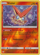 30/236 Victini Rare Holo Reverse Holo Cosmic Eclipse - The Feisty Lizard