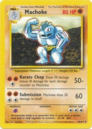 34/102 Machoke Uncommon Base Set Unlimited - The Feisty Lizard Melbourne Australia