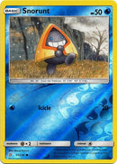 37/236 Snorunt Common Reverse Holo - The Feisty Lizard