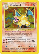4/102 Charizard Holo Rare Base Set Unlimited - The Feisty Lizard Melbourne Australia