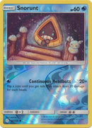 47/236 Snorunt Common Reverse Holo Cosmic Eclipse - The Feisty Lizard Melbourne Australia