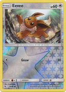 49/68 Eevee Common Reverse Holo Hidden Fates - The Feisty Lizard Melbourne Australia