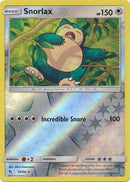 50/68 Snorlax Rare Reverse Holo Hidden Fates - The Feisty Lizard