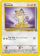 56/64 Meowth Common Jungle Set Unlimited - The Feisty Lizard